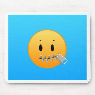 Alfombrilla De Ratón Cremallera Emoji