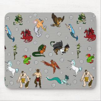 Alfombrilla De Ratón Criaturas de la mazmorra y de los dragones