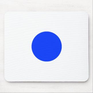 Alfombrilla De Ratón Cuadrado azul CircleTrans-3 del círculo el MUSEO Z