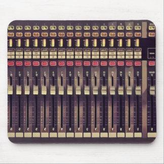 Alfombrilla De Ratón Cubierta del audio del estudio de grabación