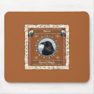Alfombrilla De Ratón Cuervo - Mousepad mágico sagrado