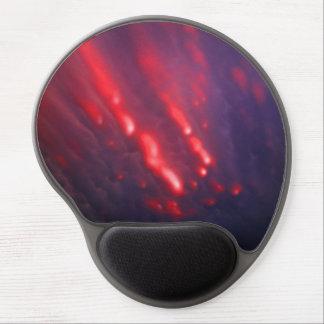 Alfombrilla De Ratón De Gel Abstracción roja y púrpura de la nube