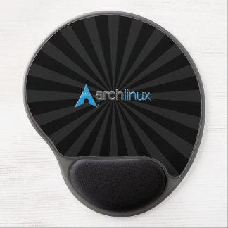 Alfombrilla De Ratón De Gel Arco Linux StarBurst negro