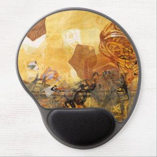 Alfombrilla De Ratón De Gel Arte abstracto Mousepad del pulso de los datos