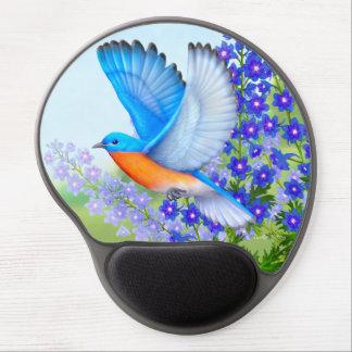 Alfombrilla De Ratón De Gel Bluebird del este en el ordenador Mousepad del
