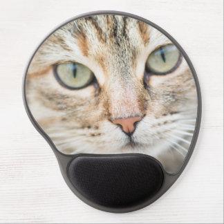 Alfombrilla De Ratón De Gel Cara del gato