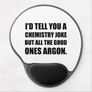Alfombrilla De Ratón De Gel Chiste de la química los buenos argón