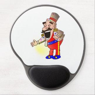 Alfombrilla De Ratón De Gel Cocinero del circo