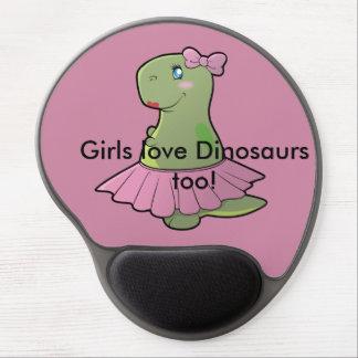 Alfombrilla De Ratón De Gel Cojín de ratón de T-Rex del dinosaurio