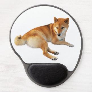 Alfombrilla De Ratón De Gel Cojín de ratón del gel de Shiba Inu