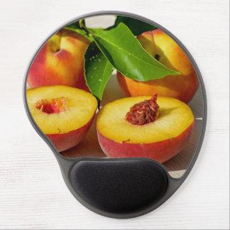 Alfombrilla De Ratón De Gel Del melocotón todavía de la fruta imagen deliciosa