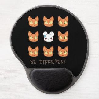 "Alfombrilla De Ratón De Gel ""different"" gel mousepad"