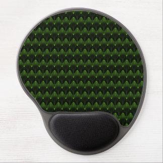 Alfombrilla De Ratón De Gel Diseño principal extranjero verde de neón