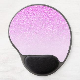 Alfombrilla De Ratón De Gel Encanto atractivo de moda moderno del purpurina de