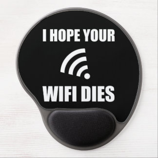 Alfombrilla De Ratón De Gel Espere sus dados de Wifi