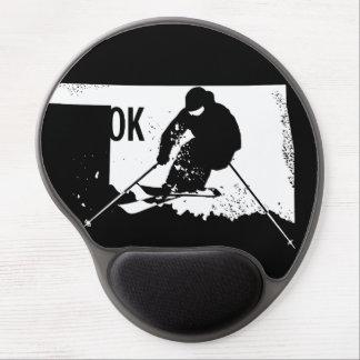 Alfombrilla De Ratón De Gel Esquí Oklahoma