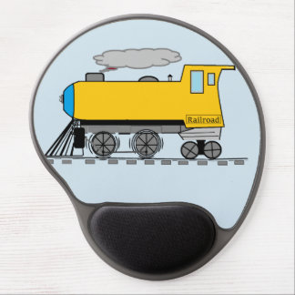 Alfombrilla De Ratón De Gel Ferrocarril Mousepad