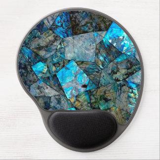 Alfombrilla De Ratón De Gel Gel abstracto Mousepad del arte de las gemas de la