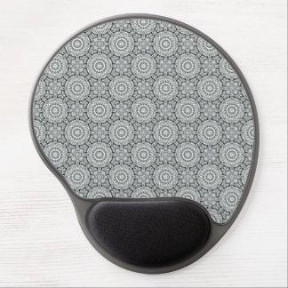 Alfombrilla De Ratón De Gel Gel blanco Mousepad del caleidoscopio del vintage