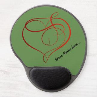 Alfombrilla De Ratón De Gel Gel de encargo hermoso Mousepad con su nombre