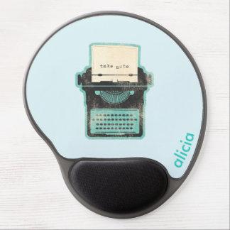 Alfombrilla De Ratón De Gel Gel de encargo Mousepad - tome la nota