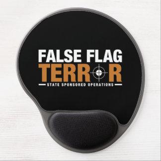Alfombrilla De Ratón De Gel Gel falso Mousepad del terror de la bandera