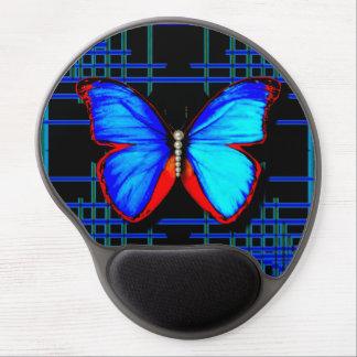 Alfombrilla De Ratón De Gel Gel social Mousepad de la mariposa