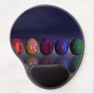 Alfombrilla De Ratón De Gel Huevos coloridos para pascua - 3D rinden