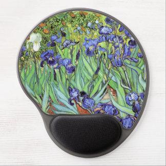Alfombrilla De Ratón De Gel Iris de Vincent van Gogh