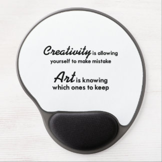 Alfombrilla De Ratón De Gel La creatividad se está permitiendo que incurriera