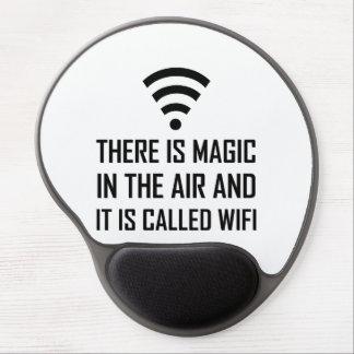 Alfombrilla De Ratón De Gel La magia en el aire es Wifi