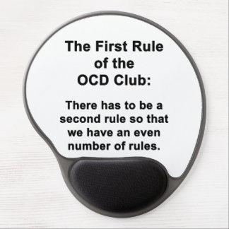 Alfombrilla De Ratón De Gel La primera regla del club de OCD