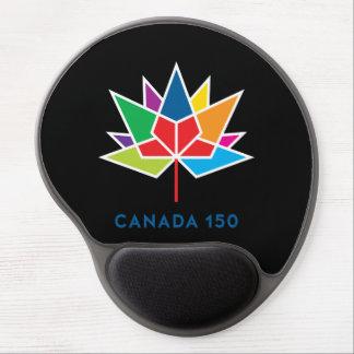 Alfombrilla De Ratón De Gel Logotipo del funcionario de Canadá 150 -