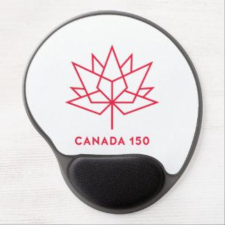 Alfombrilla De Ratón De Gel Logotipo del funcionario de Canadá 150 - esquema
