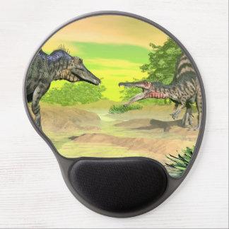 Alfombrilla De Ratón De Gel Lucha de los dinosaurios de Spinosaurus - 3D