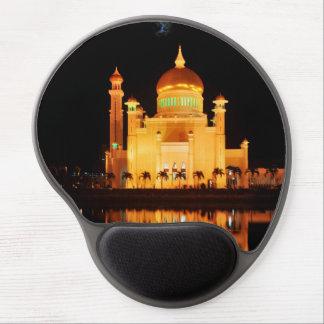 Alfombrilla De Ratón De Gel Mezquita de Omar Ali Saifuddin del sultán