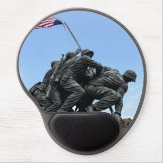 Alfombrilla De Ratón De Gel Monumento de Iwo Jima en Washington DC