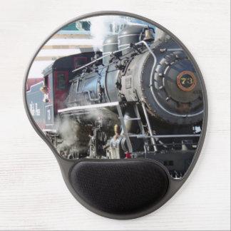 Alfombrilla De Ratón De Gel Motor de vapor del ferrocarril MousePad