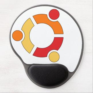 Alfombrilla De Ratón De Gel Mousepad del gel del logotipo de Ubuntu