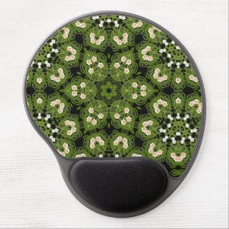 Alfombrilla De Ratón De Gel Narciso Mousepad geométrico floral