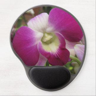 Alfombrilla De Ratón De Gel Orquídea púrpura Mousepad del Dendrobium