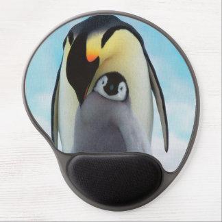 Alfombrilla De Ratón De Gel Pingüinos