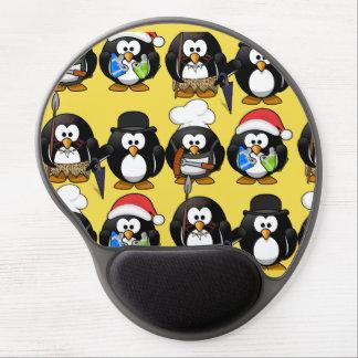 Alfombrilla De Ratón De Gel Pingüinos lindos del personalizar para los niños