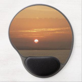 Alfombrilla De Ratón De Gel Salida del sol sobre el paisaje marino de Aruba I