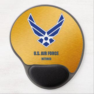 Alfombrilla De Ratón De Gel U.S. Gel jubilado fuerza aérea Mousepad