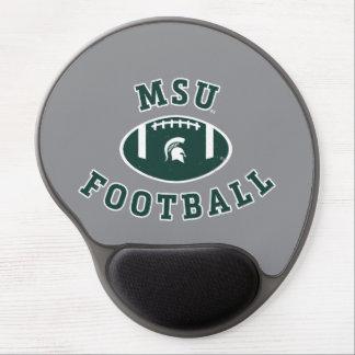 Alfombrilla De Ratón De Gel Universidad de estado del fútbol el | Michigan de