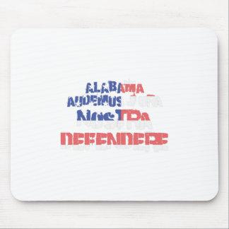 Alfombrilla De Ratón Defendere del nostra de Alabama Audemus el Jura