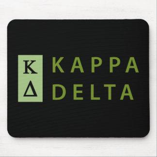 Alfombrilla De Ratón Delta de Kappa apilado
