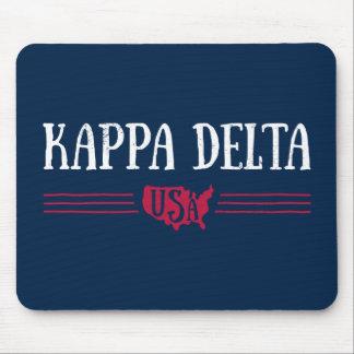 Alfombrilla De Ratón Delta los E.E.U.U. de Kappa