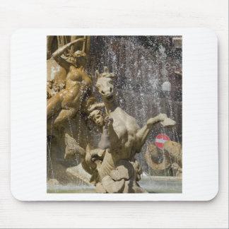 Alfombrilla De Ratón Detalle del d'Artemide de Fontana, Ortigia